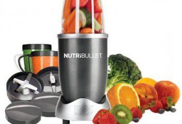"""""""Nutribullet"""": opinioni reali. Ricette per le sostanze nutritive di aspirazione NutriBullet: recensioni"""