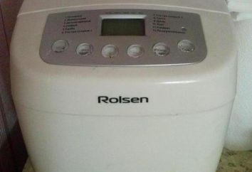 Pão Rolsen RBM-1160: descrição, receitas, revisões