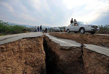 Exemples de situations d'urgence. Tremblement de terre, ouragan, inondation