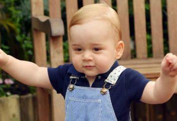Prince George de Cambridge, Prince: photo et la vie personnelle