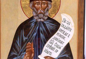 O Monk Vitaly (santo): Vida e fatos interessantes