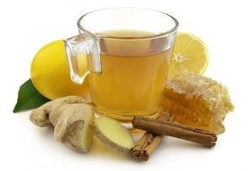 Cozinhando chá com gengibre – uma receita para perder peso