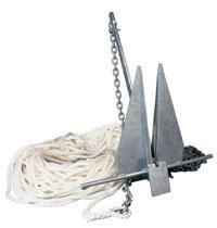 Jak zrobić kotwicą dla łodzi PVC własnymi rękami? Instrukcje dla rybaka