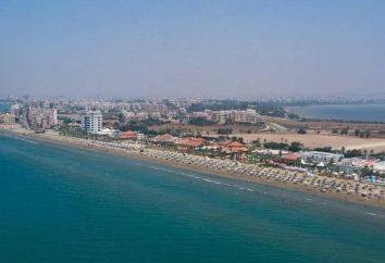 Praias de Larnaca: descrição. Praias para famílias com crianças