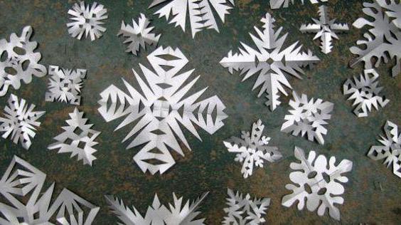 Fiocchi Di Neve Di Carta Modelli : Articoli di carta senza colla fiocchi di neve angeli animali