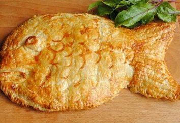 Torta di pesce e riso – tradizionale russo Kulebyaka