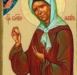 Duchowa Pomoc i obsługa techniczna: ikona Matrona Moskwie