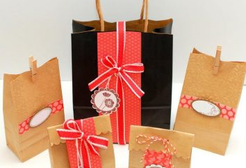 Jak zrobić piękny prezent torba z rękami