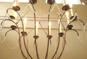 Les lampes d'éclairage: types, caractéristiques, but