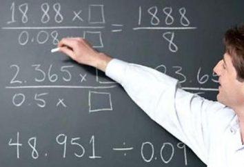 Woche der Mathematik in der Schule: Aktivitäten. Plan für die Woche der Mathematik in der Schule