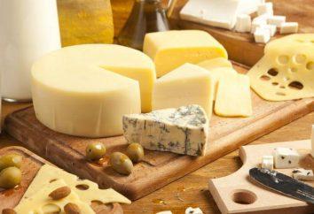 Formaggio, BZHU: il contenuto di proteine, grassi e carboidrati in diversi tipi di formaggio