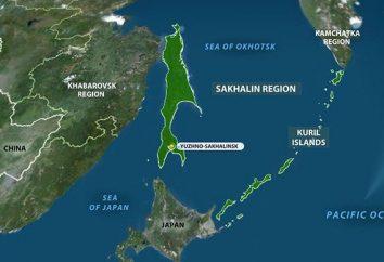 A história das Ilhas Curilas. Ilhas Curilas na história das relações russo-japonesas