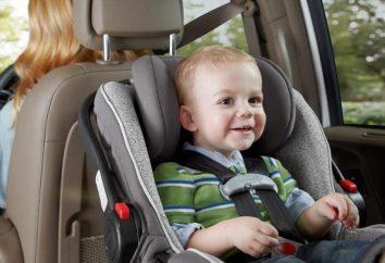 Auto-Sitz Zlatek: eine sichere und angenehme Anreise