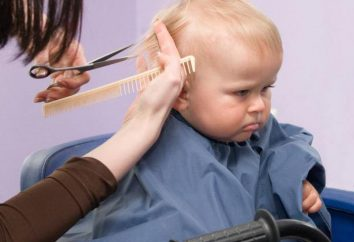 coiffure à la mode pour l'enfant