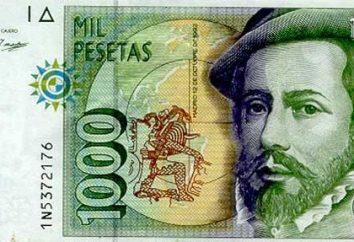 Espanha moeda: a partir do real e da peseta para o euro