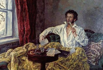 Analyse comparative des poèmes de Pouchkine et Lermontov, Tioutchev et feta