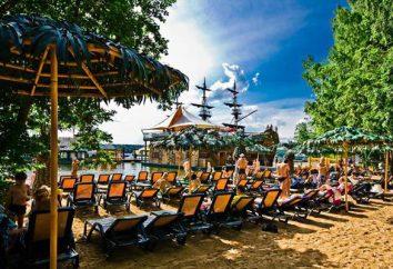 """Hotéis em Moscou: """"Malibu"""" (praia, piscinas, centro de entretenimento)"""