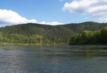 Kahn – une rivière dans le territoire de Krasnoïarsk