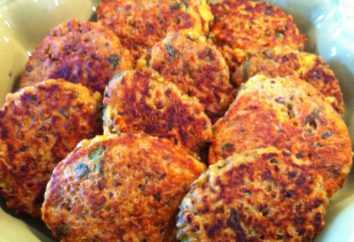 hamburguesas de lentejas. albóndigas vegetarianas sin carne: receta
