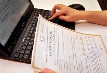 Obowiązkiem państwa dla państwowej rejestracji praw. Wielkość opłaty państwowej