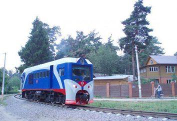 Sehenswürdigkeiten von Russland: Kinderbahn (Irkutsk)