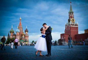 Os melhores lugares para a sessão de fotos de casamento em Moscou