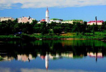 A população de Mogilev, clima, atrações