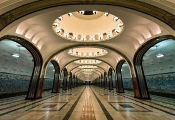 Tunel metra. Metropolita Moskwy