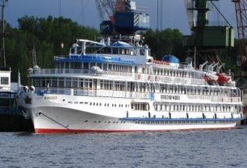 """Ship """"Alexander Fadeev"""": Descrição dos vôos, os preços"""