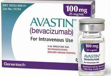 Le médicament « Avastin » en ophtalmologie: commentaires, mode d'emploi et de la composition