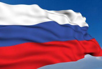 Symbole państwowe Federacji Rosyjskiej: flaga, godło i hymn