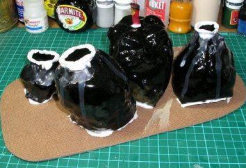 Wykonujemy rój plastikowych butelek kilku godzin