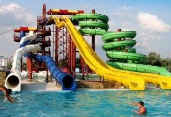 Interessante parque aquático em Kaluga
