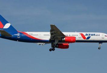 """La compagnie aérienne """"Air Azur"""" (Azur Air): vols, la flotte d'avions, des critiques"""