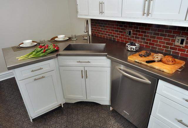 Dimensiones esquina hunde para la cocina. fregadero pequeño rincón ...