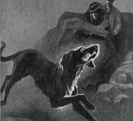 "Arthur Conan Doyle, ""Cão dos Baskervilles"". resumo"