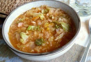 Como cozinhar sopa de repolho – de um tradicional sopa russa