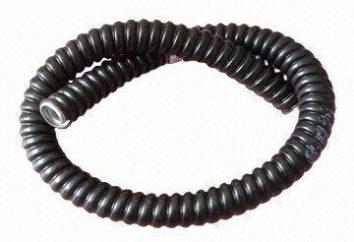 węży metalowych, PCV izolacyjne: cechy, zalety i cechy