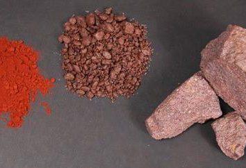 ferro mínio: Preparação, propriedades de aplicação