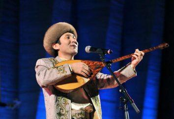 Kasachisch Musikinstrument dombra (Foto)
