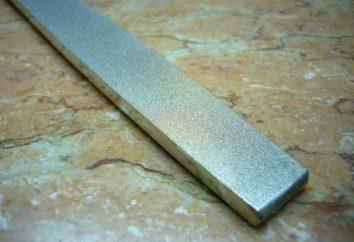 Diamant-Nadel-Datei: Typ, Zweck. Nadelsätze mit Diamantbeschichtung