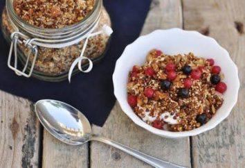 Granola dieta – sana colazione per una giornata attiva