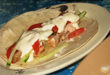 Sos do shawarma, powodując apetyt. Jak gotować sos dla shawarma?