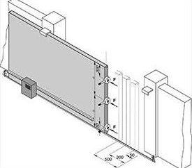 Las puertas correderas con sus manos: diseño, dibujos, bocetos, fotos. Conducir la puerta corredera con sus propias manos con las dimensiones