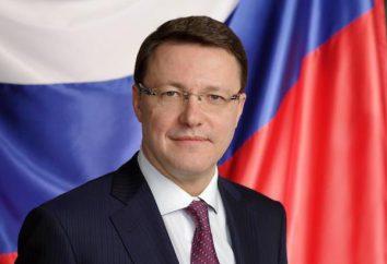 Azarov Dmitriy Igorevich – el senador de la región de Samara