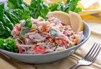 insalata di granchio: la composizione e la ricetta
