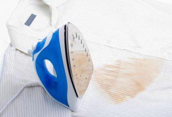 Comment supprimer une trace de fer sur les vêtements: moyens efficaces, recommandations et commentaires