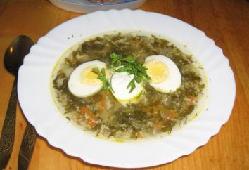 Minestra dell'acetosa con l'uovo – due versioni