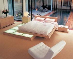 Wygodne i stylowe łóżko podium