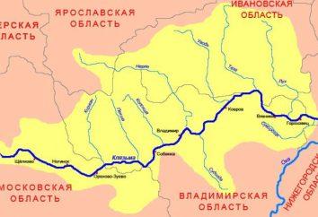 Klyazma (rio). O rio Klyazma, região de Vladimir